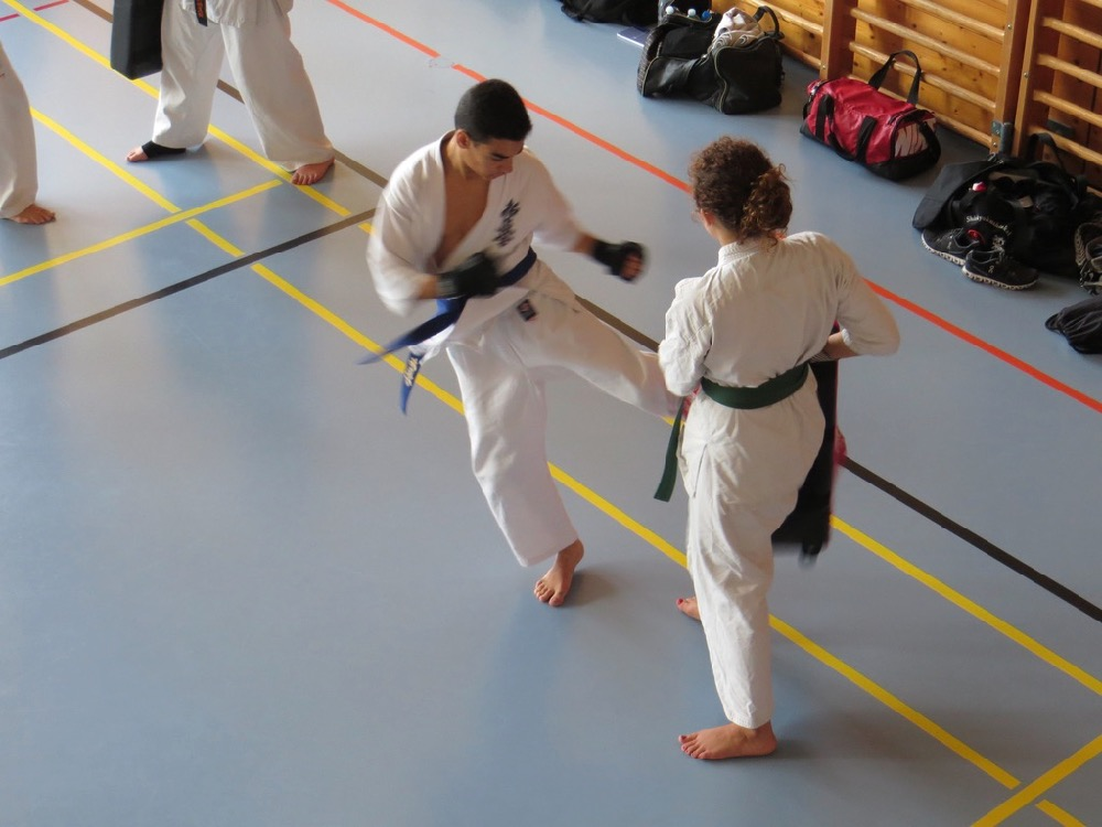 Entrainement National Shinkyokushin, Septembre 2018, Lausanne - 10