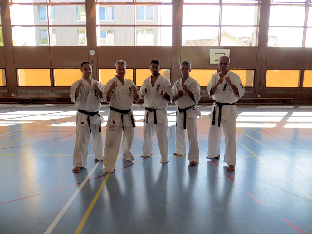 Entrainement National Shinkyokushin, Septembre 2018, Lausanne - 2