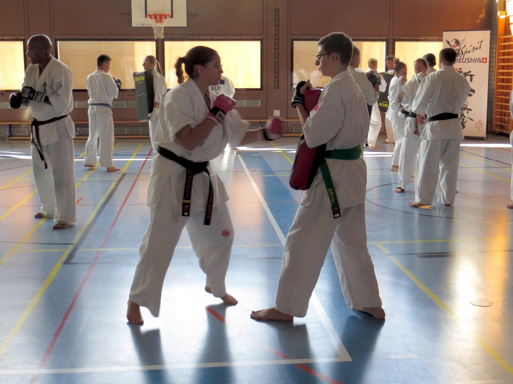 Entrainement National Shinkyokushin, Septembre 2018, Lausanne - 3