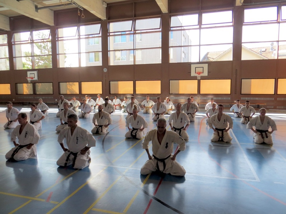 Entrainement National Shinkyokushin, Septembre 2018, Lausanne - 4