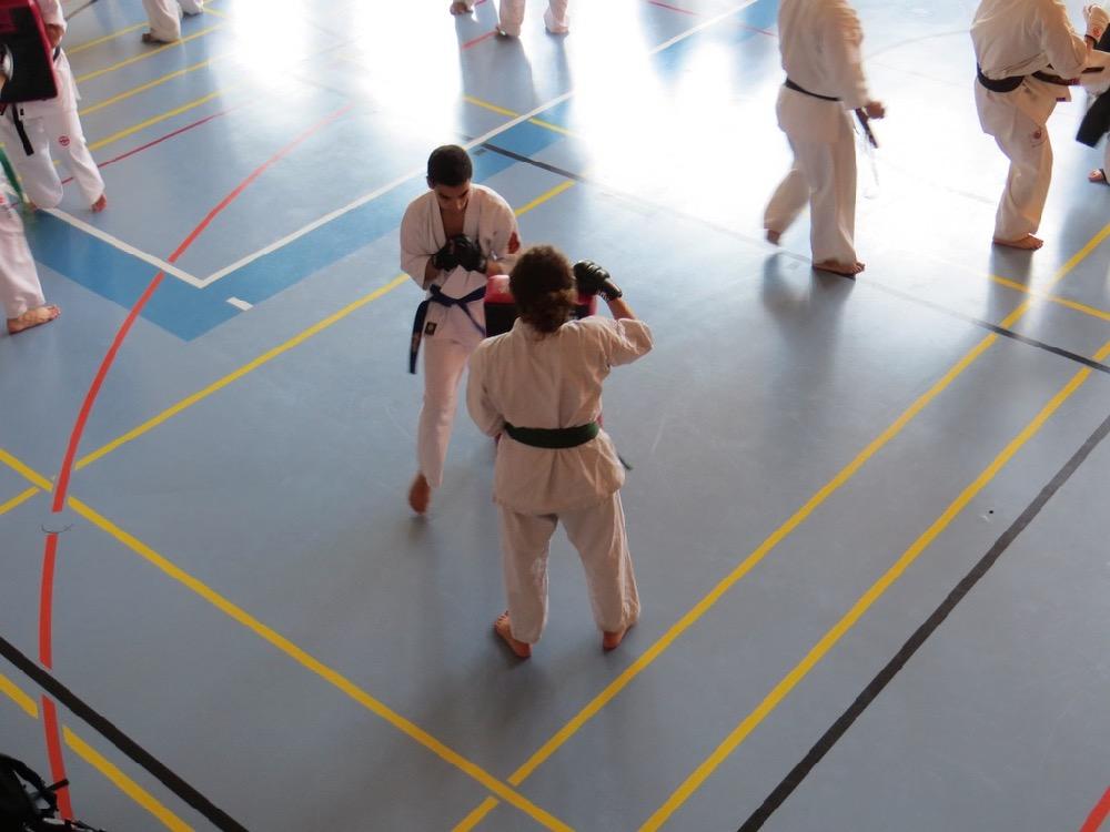 Entrainement National Shinkyokushin, Septembre 2018, Lausanne - 5