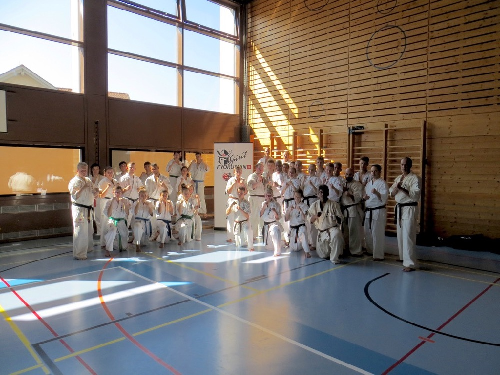Entrainement National Shinkyokushin, Septembre 2018, Lausanne - 6