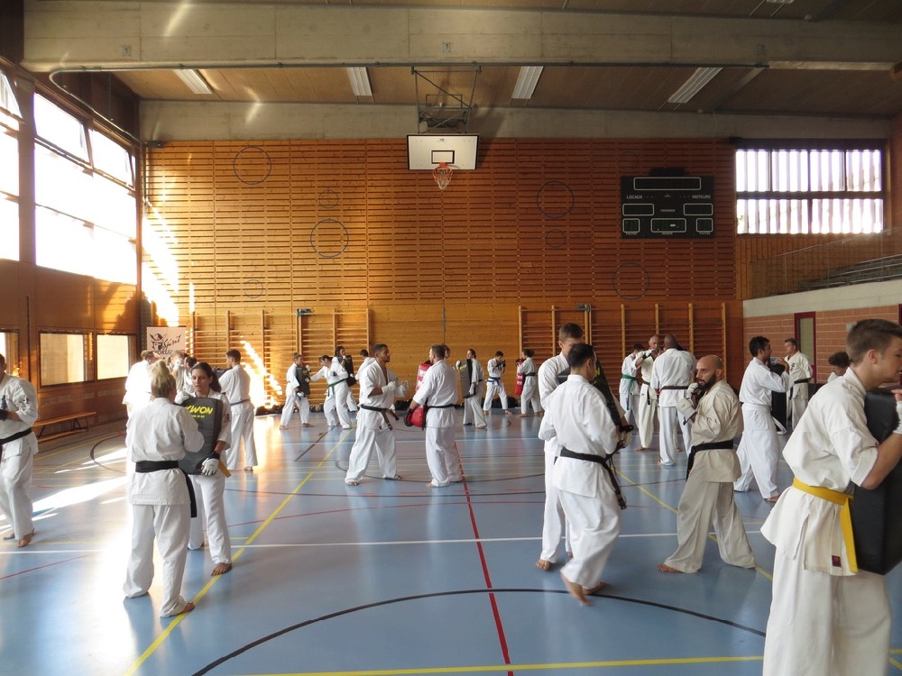 Entrainement National Shinkyokushin, Septembre 2018, Lausanne - 7