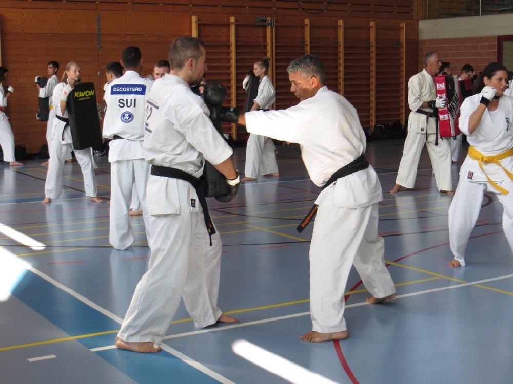 Entrainement National Shinkyokushin, Septembre 2018, Lausanne - 8