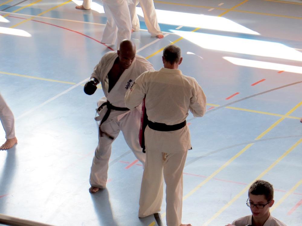 Entrainement National Shinkyokushin, Septembre 2018, Lausanne - 9