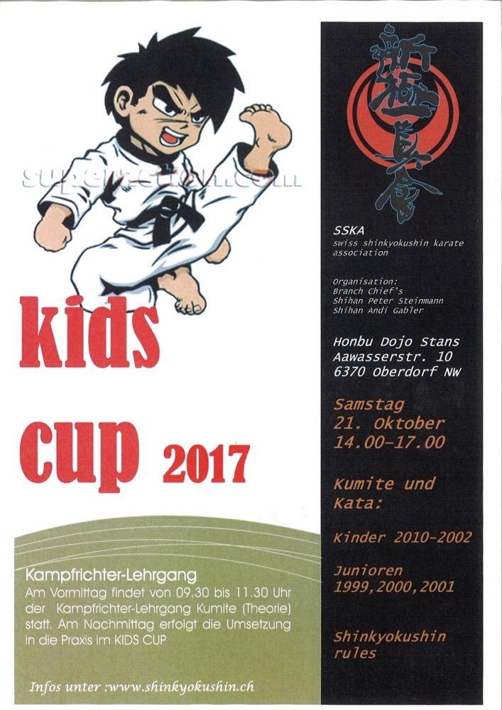 Kids Cup, Stands ocotbre 2017 - 1
