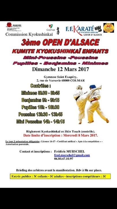 Open d'Alsace junior, mars 2017 - 1