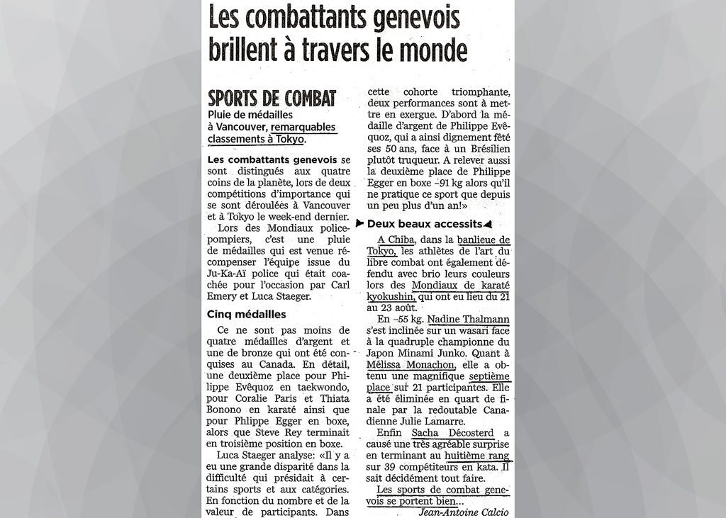 kyokushin-karate-club-geneva-20090827-tribune-geneve